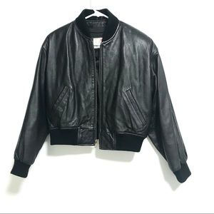 Wilson leather. Vintage leather bomber
